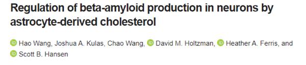 膽固醇影響阿爾茨海默癥斑塊沉積,治療新機遇將誕生!